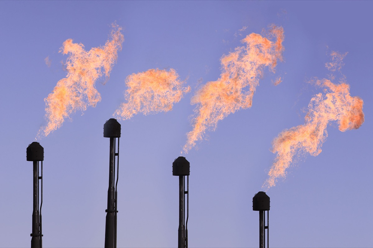 Methane Flare Emissions Skyrocketing